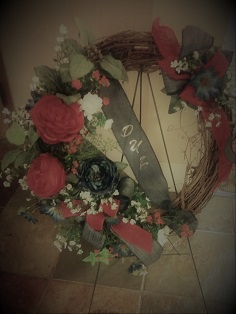 DUV Door Wreath